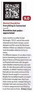 MENTAL OVERDRIVE REVIEW DJ MAG APRIL 2014